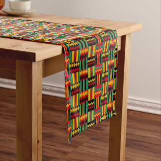 Modern Abstract African Art Pride Red Yellow Green