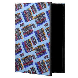 Modern Abstract Art Blue Background Powis iPad Air 2 Case