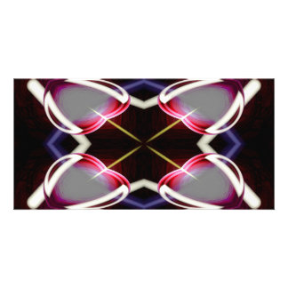 Modern Abstract Art Digital Photo Card Template