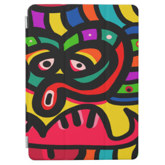 Modern Abstract Art Face iPad Air Cover
