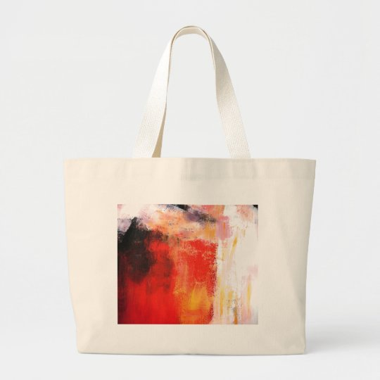 Modern Abstract Art - Minimalist Art Large Tote Bag
