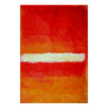 Modern Abstract Art Poster - Rothko Style