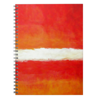 Modern Abstract Art - Rothko Style Note Book
