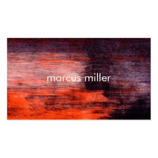 MODERN ABSTRACT ART TEXTURE | BUSINESS CARD