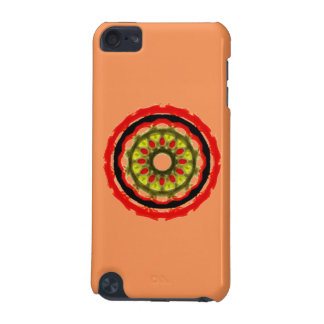 Modern abstract circle pattern iPod touch (5th generation) case