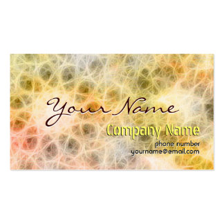 Modern  Abstract Colorful Light Business Cards