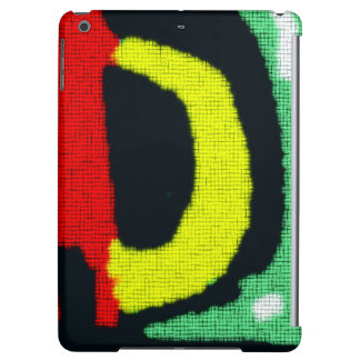 Modern abstract colorful pattern cover for iPad air