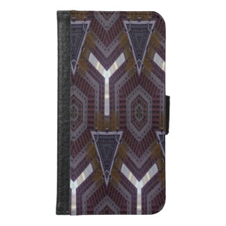 modern abstract colorful pattern samsung galaxy s6 wallet case