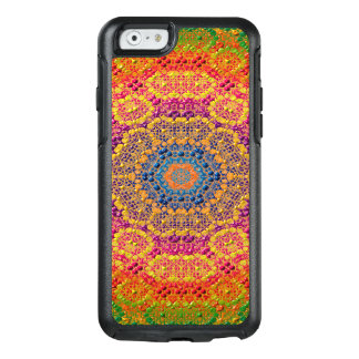 Modern Abstract Concentric Pattern Tile OtterBox iPhone 6/6s Case