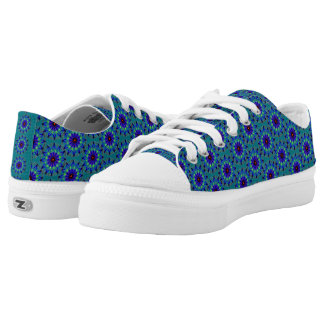 Modern abstract cool pattern low tops