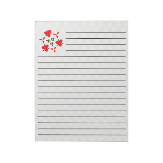 modern abstract cool pattern notepad