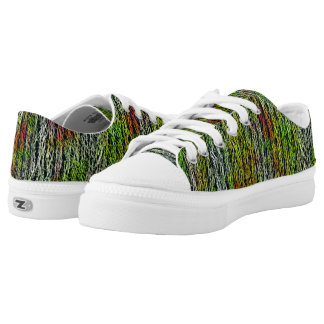 Modern abstract cool stylish pattern low tops