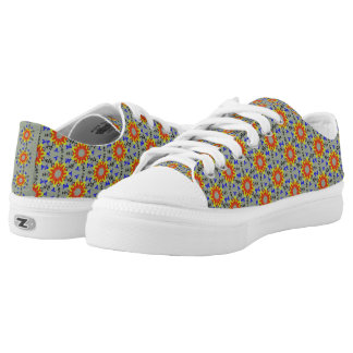 Modern abstract cool trendy pattern low tops