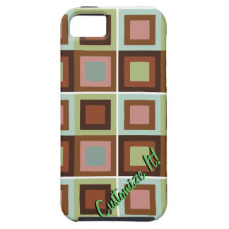 modern abstract cubist phone case cover iPhone 5 cover