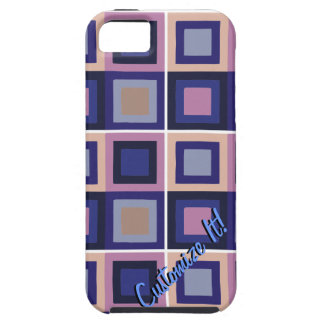 modern abstract cubist phone case cover iPhone 5 covers