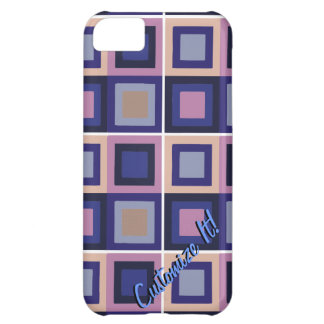 modern abstract cubist phone case cover iPhone 5C cover
