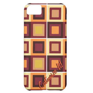 modern abstract cubist phone case cover iPhone 5C cases