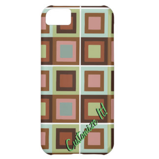 modern abstract cubist phone case cover iPhone 5C case