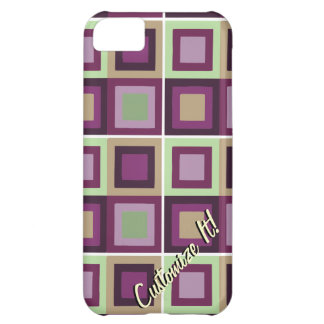 modern abstract cubist phone case cover case for iPhone 5C