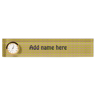 modern abstract decoartive pattern name plate