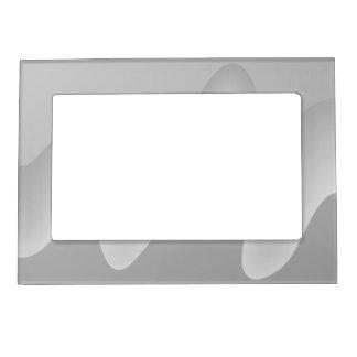 Modern Abstract Design in Light Gray. Magnetic Frame