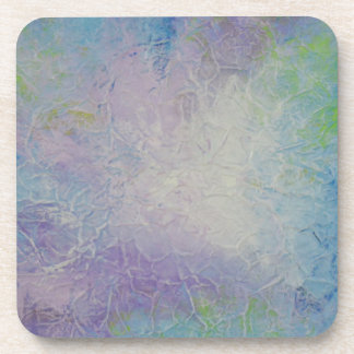 Modern Abstract Design Lilac Coasters