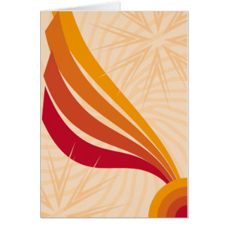 Modern Abstract Desing Greeting Card