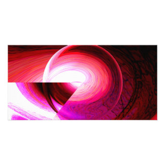 Modern Abstract Digital Customized Photo Card