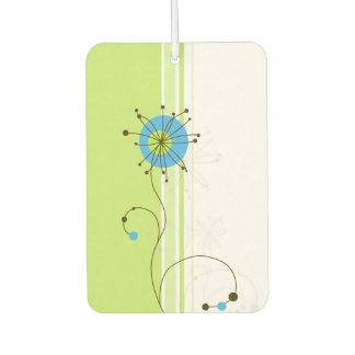 Modern Abstract Floral Design - Air Freshener