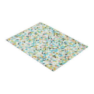 Modern Abstract Geometric Doormat