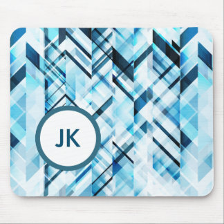 Modern Abstract geometric Mouse Mat