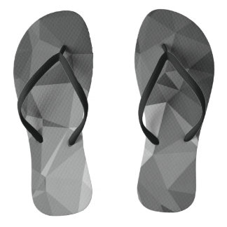 Modern Abstract Geometric Pattern - Knight Gable Flip Flops
