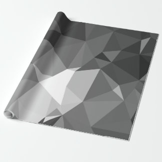 Modern Abstract Geometric Pattern - Knight Gable Wrapping Paper