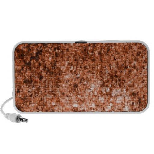 Modern Abstract Glass Pattern Speaker System