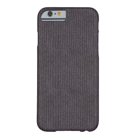 Modern Abstract Grey Linen Pattern iPhone 6 Case