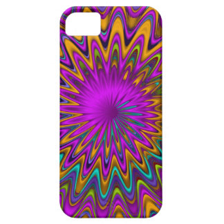 Modern abstract iPhone 5 case Spiral Waves