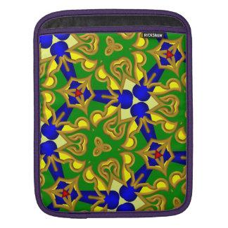 Modern abstract multicolored iPad sleeve