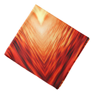 Modern Abstract Ocean Design Bandana