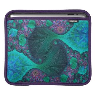 Modern Abstract Ocean Design iPad Sleeve