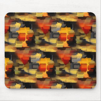 Modern Abstract Paint Squares Mousepads