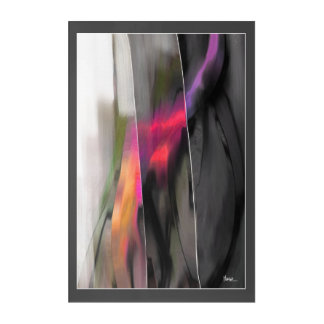 Modern Abstract Painting Acrylic Wall Panel Acrylic Print