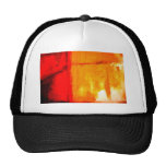 Modern Abstract Painting Mesh Hats
