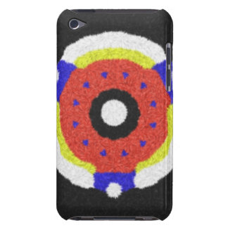 Modern abstract pattern barely there iPod case
