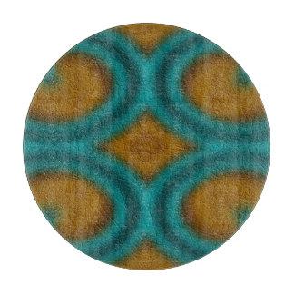 Modern abstract pattern cutting board