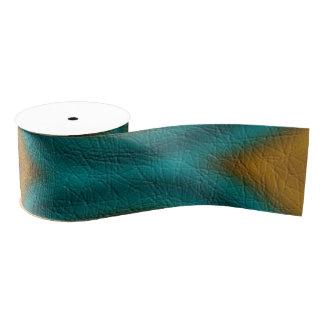 Modern abstract pattern grosgrain ribbon