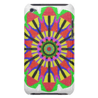 Modern abstract pattern iPod touch case