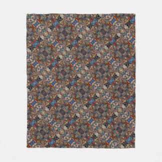 Modern Abstract Pattern M. Collins Fleece Blanket