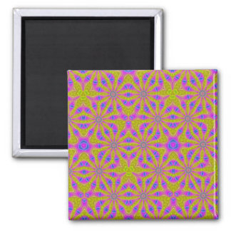 Modern abstract pattern magnets