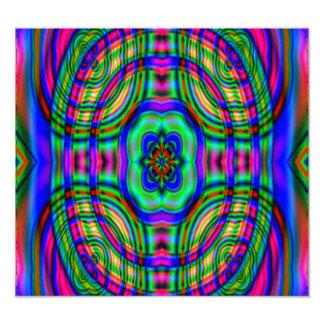 Modern abstract pattern photo