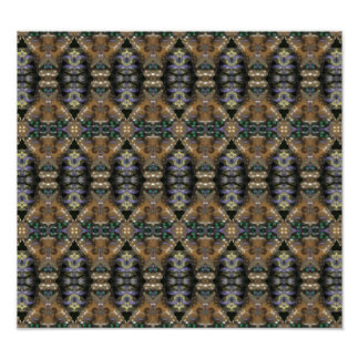 Modern abstract pattern photo art